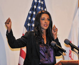 Michelle D. Bernard at Team Redstone's National Women's History Month Celebration, April 20, 2015