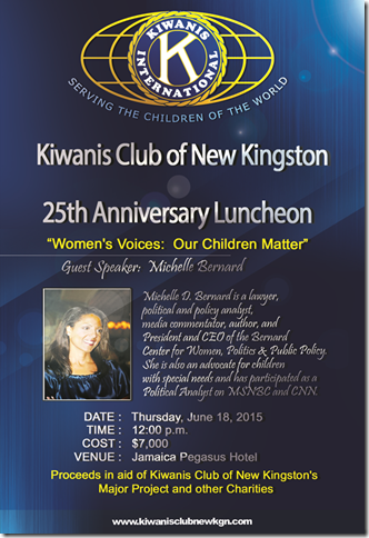 Kiwanis Club of New Kingston Michelle Bernard