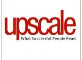 Upscale t-shirt logo